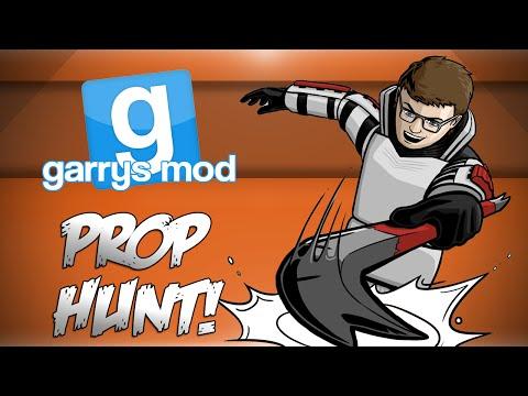GMod Prop Hunt! - HAYYYY!, Rooftop Warfare, Glitchy Old Men! (Garrys Mod Funny Moments)