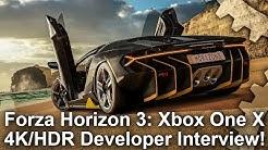 [4K HDR] Forza Horizon 3: Xbox One X Full Developer Interview!