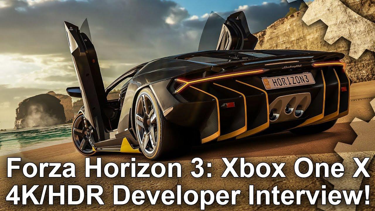 4k hdr forza horizon 3 xbox one x full developer - Is forza horizon 3 4k ...