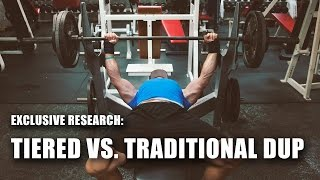 Tiered vs. Traditional DUP for Powerlifting in Trained Males