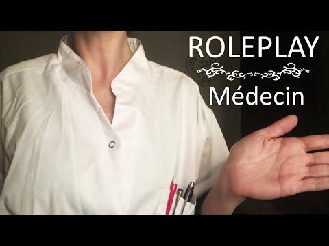 {ASMR} ROLEPLAY médecin généraliste