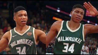 NBA 2K18 vs NBA Live 18 Graphics Comparison