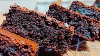 Настоящий американский БРАУНИ.  шоколадный торт - пирог.Chocolate brownie