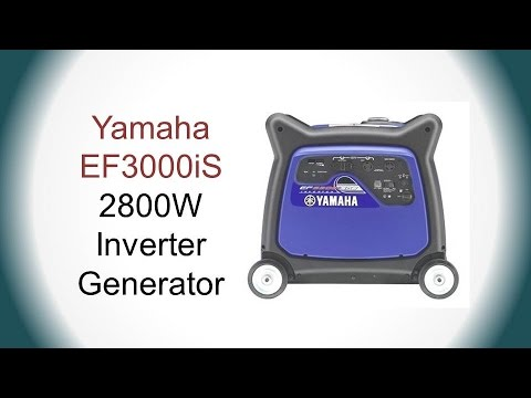 Yamaha EF3000iS Review