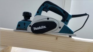 Makita KP0800 planer - unboxing,review and How to Use a Planer/Woodworking- tool review
