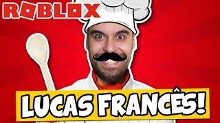ESCAPE DO LUCAS FRANCÊS! - Roblox (Escape the Evil Restaurant)