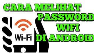 Cek Password Wifi yang terhubung di Android