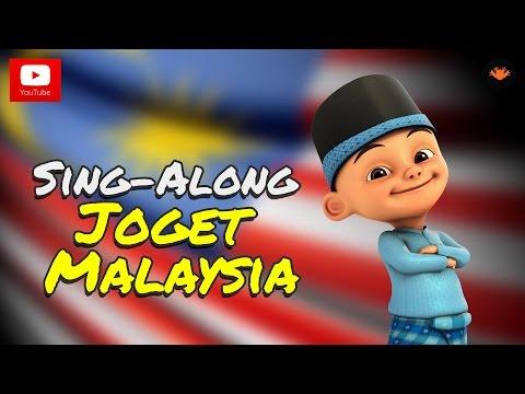 Upin & Ipin - Joget Malaysia [Sing-Along][HD]