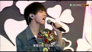 王俊凯演唱周杰伦《阳光宅男》 这分明是小型男!