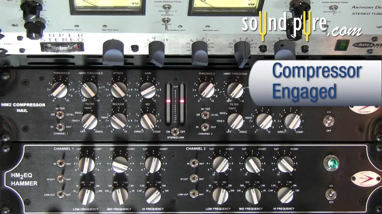A Designs Nail Stereo Compressor Hm2 Threshold Hard Threshold