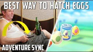Adventure Sync Is Broken: Best Way To Hatch Eggs In Pokemon Go!