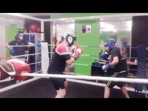 Anthony Hickey Sparring 2