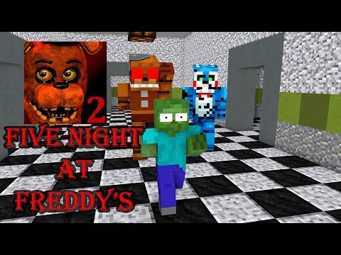 Monster School : Five Nights at Freddy's(FNAF) - Minecraft Animation