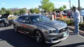 Dodge Charger SRT arriving at Green Valley Ranch Car Show