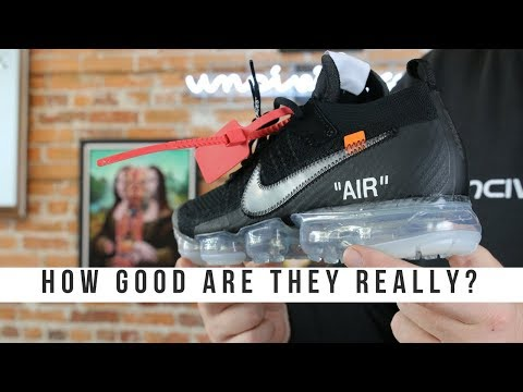 HOW GOOD IS THE OFF WHITE NIKE VAPORMAX 2018?