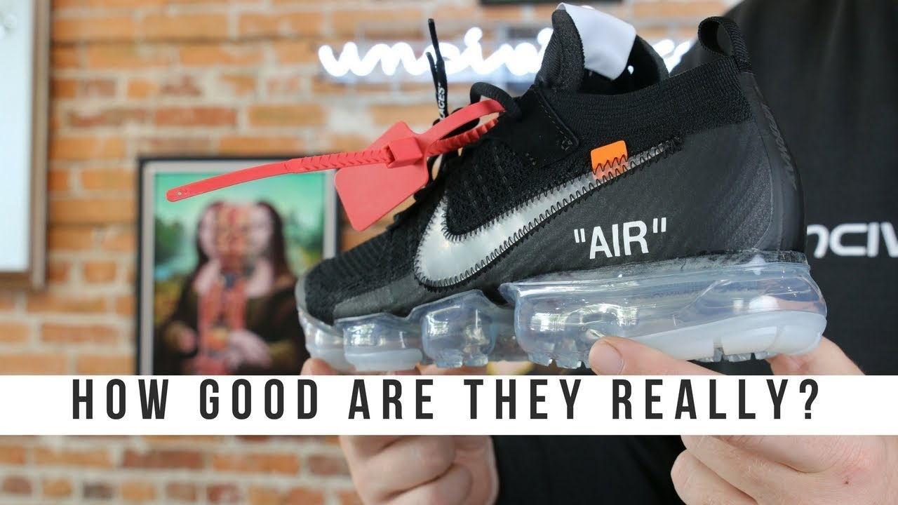 5581a46802276a HOW GOOD IS THE OFF WHITE NIKE VAPORMAX 2018  - YouTube