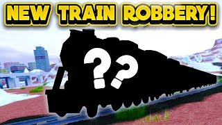 NEW TRAIN ROBBERY NEXT UPDATE! (ROBLOX Jailbreak)