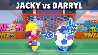 JACKY vs DARRYL | 18 Tests | Best Brawler in Brawl Stars?
