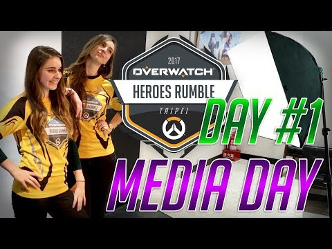 Behind the scenes/Media day at the Overwatch Heroes Rumble, Taiwan [Day 1]