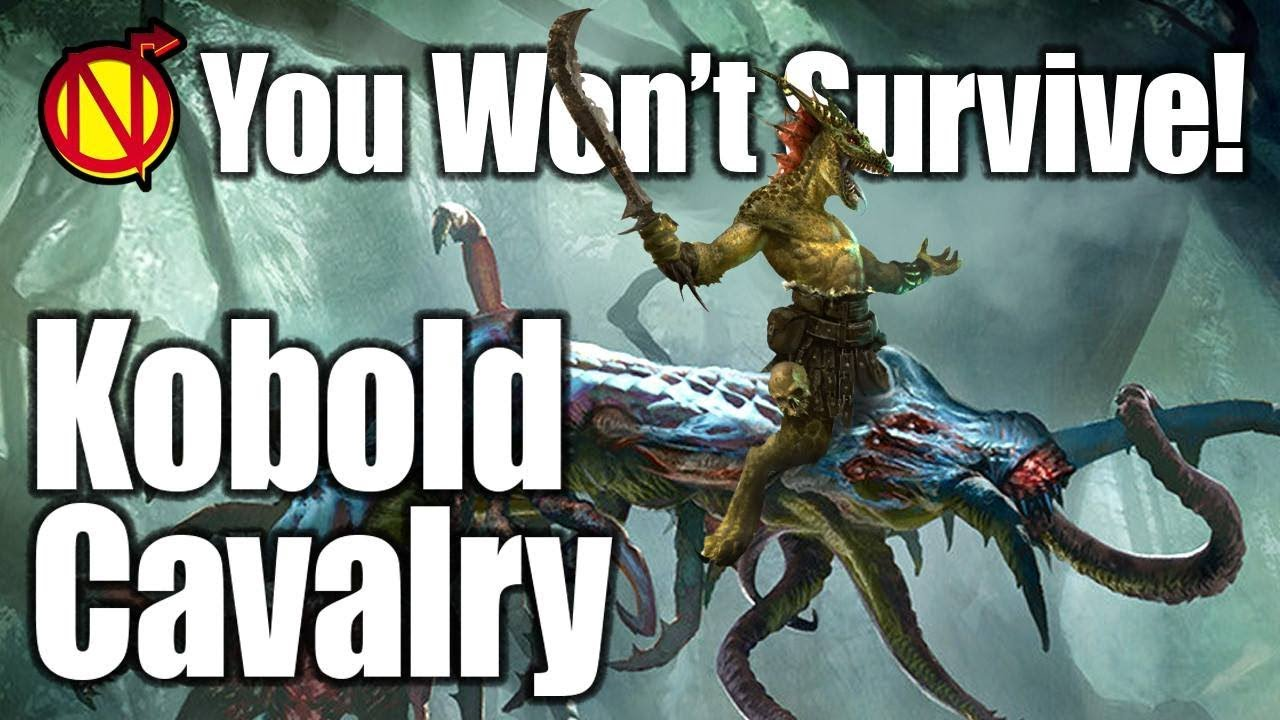 D D Monsters Unleash The Kobold Cavalry Youtube