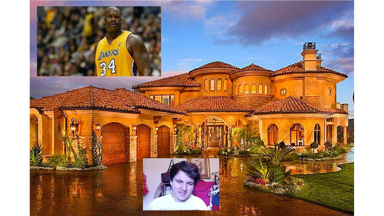 Shaq S Crib Is Huge Shaquille O Neal Mtv Cribs My Reaction Youtube