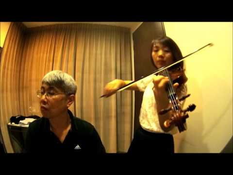 Duets From Classic Love Songs : Only You (And You Alone) by Buck Ram (Violin and Piano)
