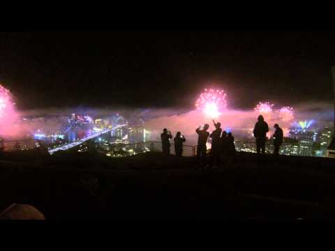 Royal Australian Navy Fleet Review Fireworks Display 2013