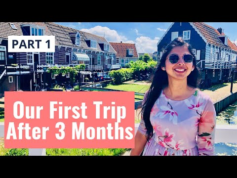 Netherlands Tourist Places | 3 Beautiful Dutch Villages |Part 1 |Marken, Volendam, Edam | Hindi Vlog