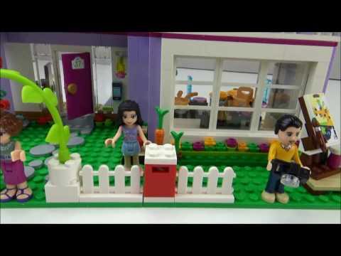 Lego® - Friends - 41095 - Emmas Familienhaus - Review +
