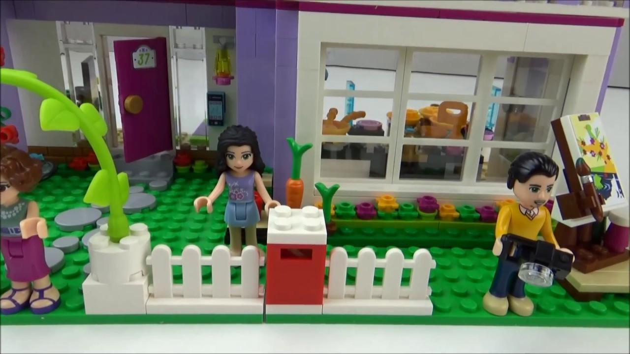 Lego Friends Badezimmer Lego Friends 41095 Emmas Familienhaus Review