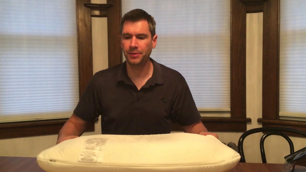 Tempurpedic symphony pillow review youtube