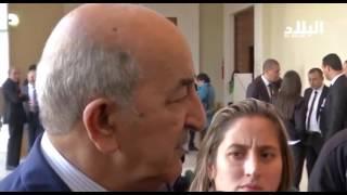 عبد المجيد تبون / وزير السكن  -elbiladtv-