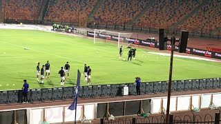 ابوجبل يتخانق مع كارتيرون و مغادرته الملعب قبل المباراة و رفضة النزول الي الاحماء و رحيله من الفندق