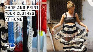 סדרת רשת י(ו)צרים | ביקור סטודיו עם מעצבת האופנה בתלת מימד דנית פלג