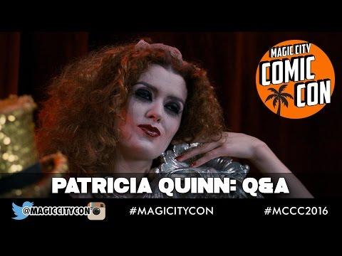 Patricia Quinn Q&A at Magic City Comic Con Jan 2016