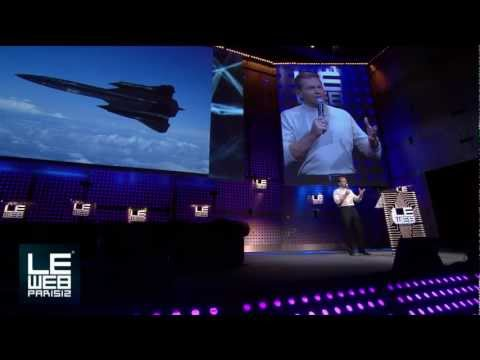 Brian Shul Shares his Inspiring Story of Flying an SR-71 Blackbird - LeWeb Paris 2012