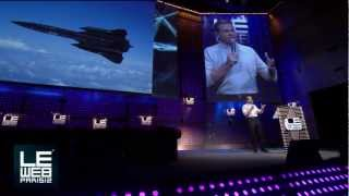 Brian Shul Shares his Inspiring Story of Flying an SR-71 Blackbird - LeWeb Paris 2012