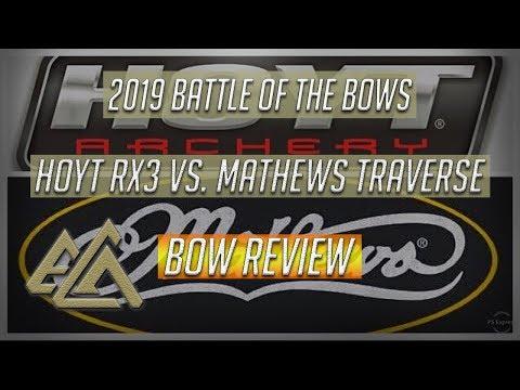 Hoyt Carbon RX3 Ultra Vs. Mathews Traverse Bow Battle