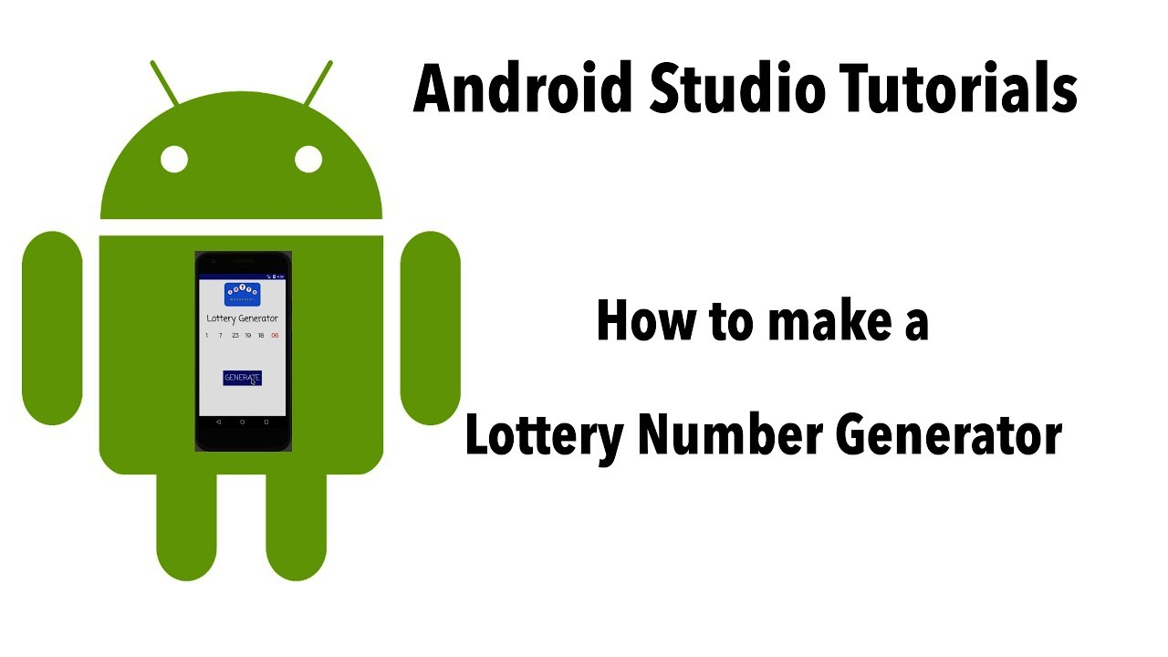 How to Make an Android App from Scratch: The Lottery Generator