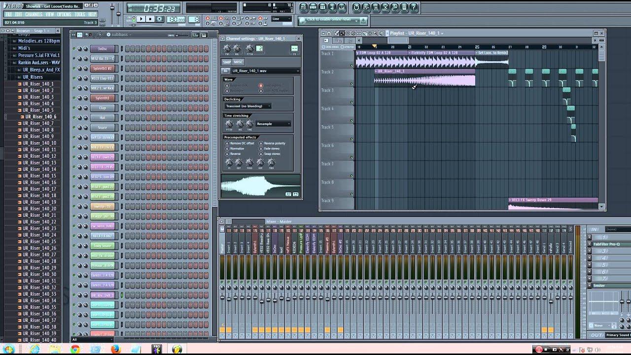 fl studio how to add samples