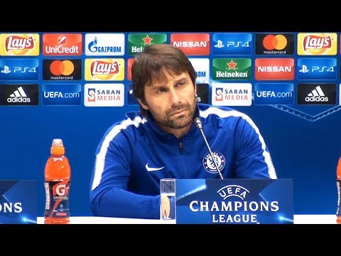 Antonio Conte Full Pre-Match Press Conference - Qarabag v Chelsea - Champions League