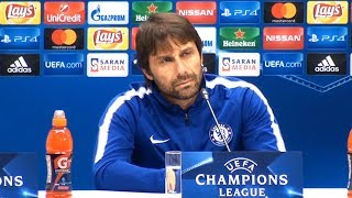 Antonio Conte Full Pre-Match Press Conference - Qarabag v Chelsea - Champions League