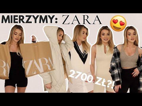 WYDAŁAM 2700 W ZARZE... MIERZYMY! | fashion talk ZARA