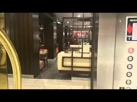 St Louis Airport Marriott Hotel North elevator