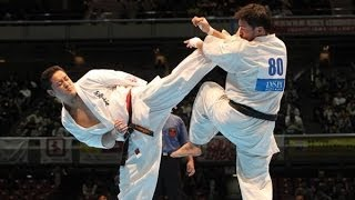 THE 45TH ALL JAPAN OPEN KARATE TOURNAMENT men 3rd round Tatsuya Has...