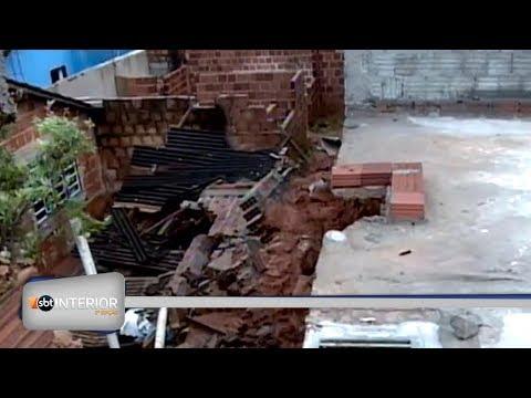 Em Valparaíso o dia foi de limpeza e de calcular os prejuízo causados pela chuva