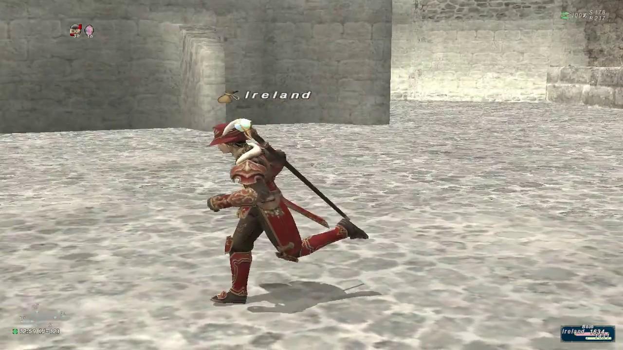 Final Fantasy Xi Ffxi Rdm99whm49 Rdm Red Mage Ireland Gem Of The West On Beach 05 02 17
