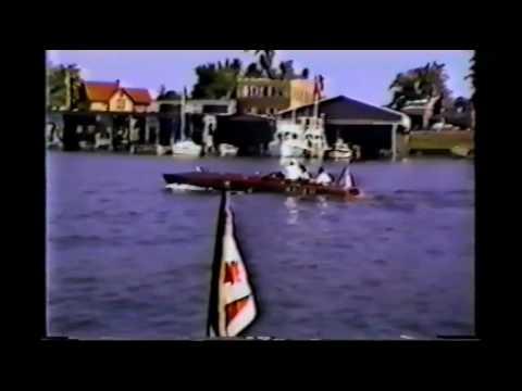 1996   ANTIQUE RACE BOAT REGATTA CLAYTON NY HOME VIDEO