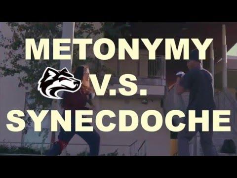 Metonymy vs. Synecdoche
