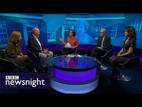 DEBATE: Who is the real Theresa May? - BBC Newsnight